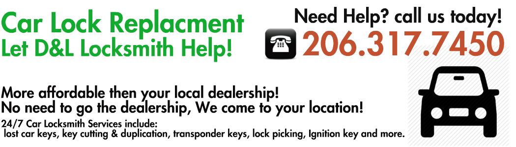 car lock replacment seattle wa