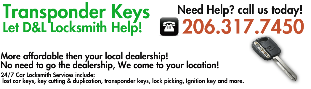 transponder keys replacment