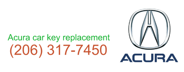 Acura car key replacement 206 317 7450