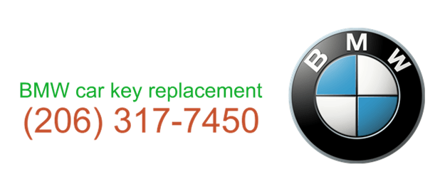 BMW car key replacement 206 317 7452
