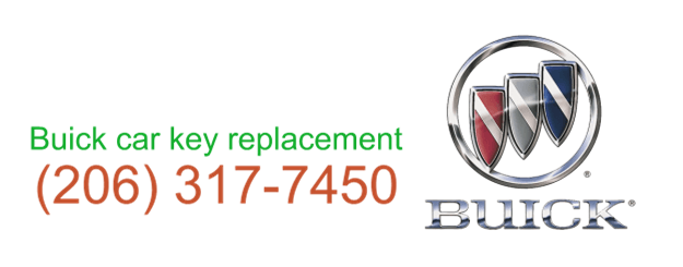 Buick car key replacement 206 317 74532
