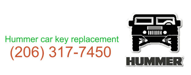 Hummer car key replacement 206 317 747