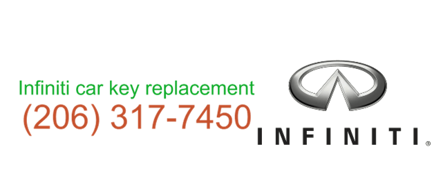 Infiniti car key replacement 206 317 7461
