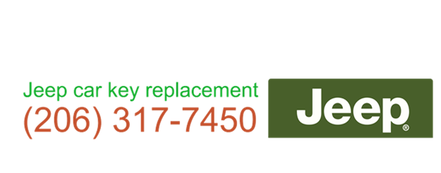 Jeep car key replacement 206 317 7463