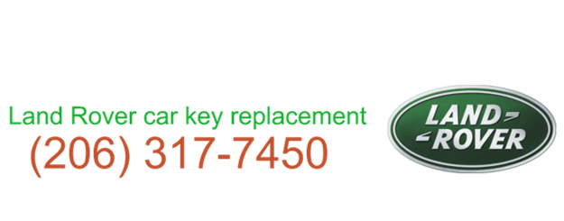 Land Rover car key replacement 206 317 7465