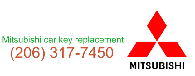 Seattle Mitsubishi Car Key Replacement 206 317 7450