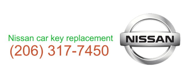 Nissan car key replacement 206 317 7470