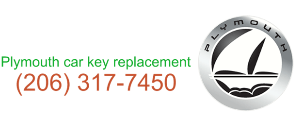 Plymouth car key replacement 206 317 7462