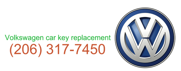 Volkswagen car key replacement 206 317 7480