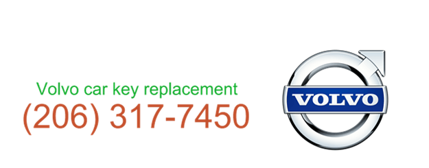 Volvo car key replacement 206 317 7481
